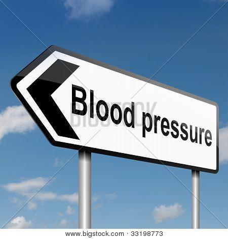 Blutdruck-Konzept.