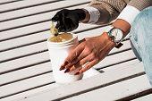 Natural Honey Sugar Paste Shugaring Closeup - White Tube poster