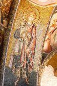 foto of constantinople  - Wall mosaics of ancient Chora Church Istanbul - JPG