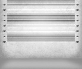 stock photo of lineup  - White and Black Police Lineup Background Image Texture - JPG