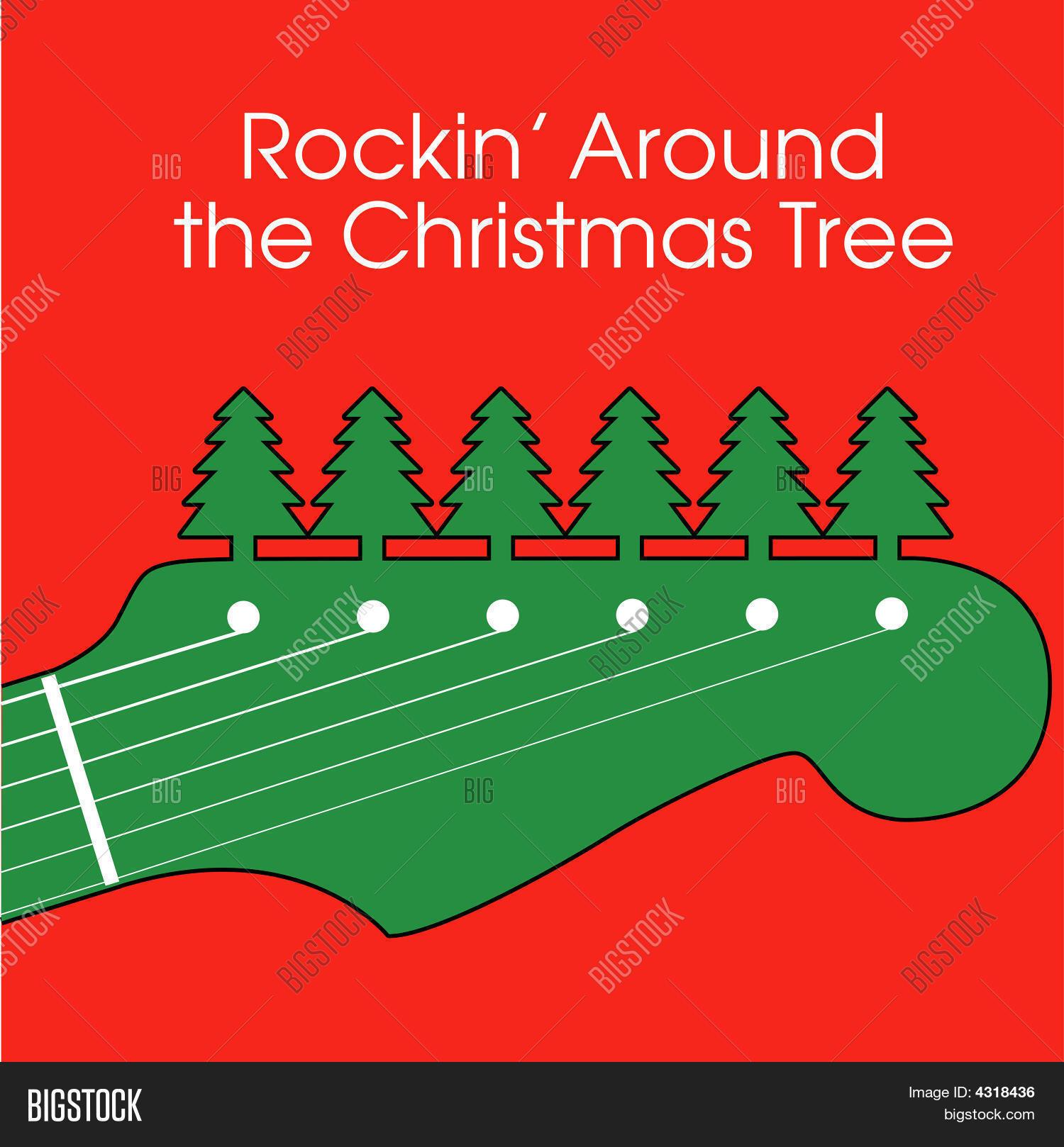 Christmas Rock Vector & Photo   Bigstock