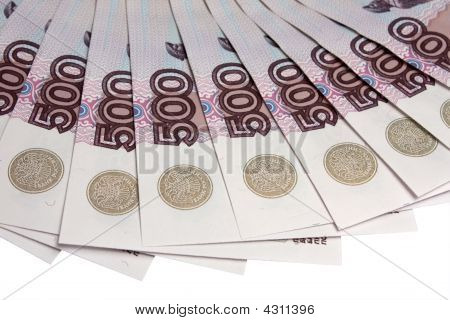 Denominations Advantage Of 500 Roubles