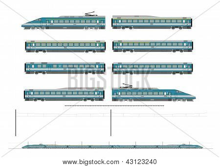 High Speed Train Kit