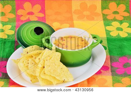 Cheese Dip And Chips