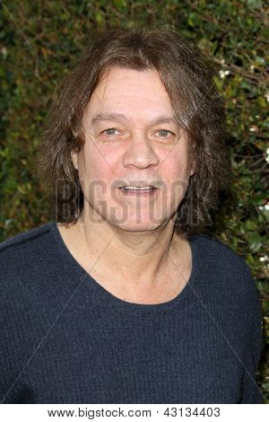 LOS ANGELES - MAR 10:  Eddie Van Halen arrives at the  10th Annual John Varvatos Stuart House Benefit at the John Varvatos Boutique on March 10, 2013 in West Hollywood, CA