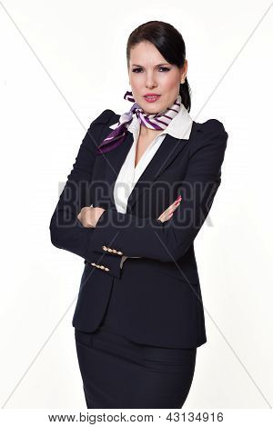 Portrait Young Business Woman