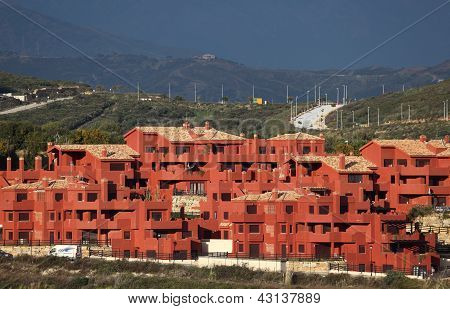Urbanisation in Andalusia, Spain