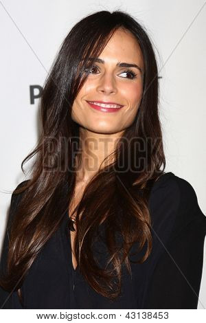 "LOS ANGELES - MAR 10:  Jordana Brewster arrives at the  ""Dallas"" PaleyFEST Event at the Saban Theater on March 10, 2013 in Los Angeles, CA"