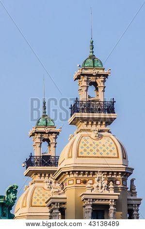 Turrets of Monte Carlo Casino