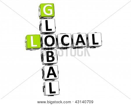 3D Local Global Crossword