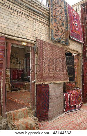 Rug sellers store, Marakesh, Morocco