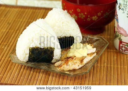 Japanese Rice Balls ( Onigiri )