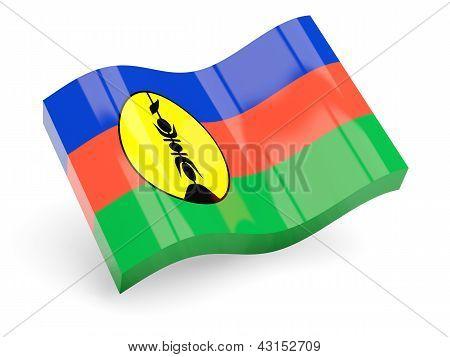 3d flag of new caledonia
