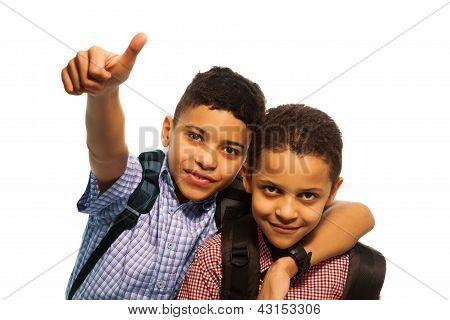 Two Black Boys After School