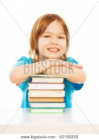 Smart Cute Smiling Boy