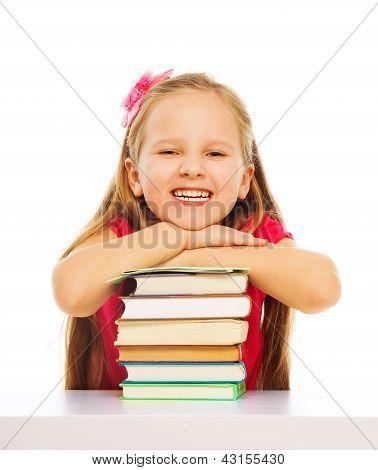 Smart Cute Smiling Girl