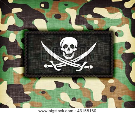 Amy Camouflage Uniform, Pirate