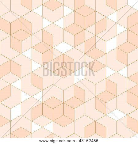 Isometric, geometric vector illustration.