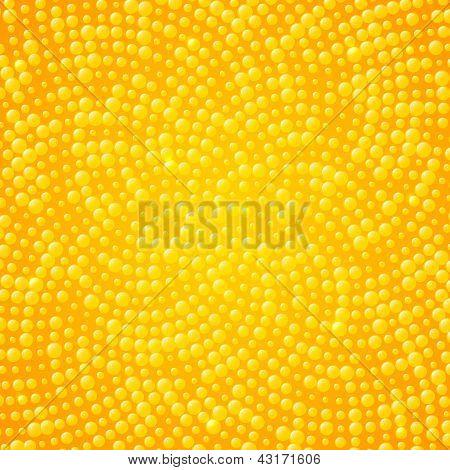 gelbe Punkte-abstrakt