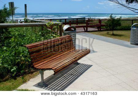 Park Bench Beach