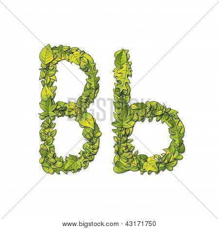 Leaf Font B
