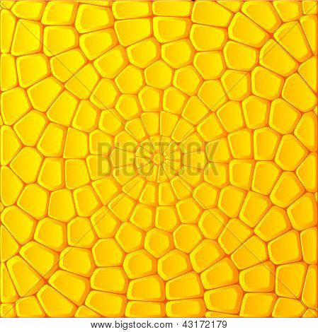 Yellow bricks vector abstract background