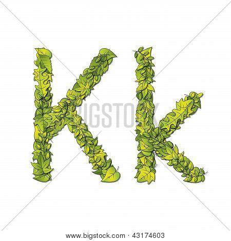 Leaf Font K