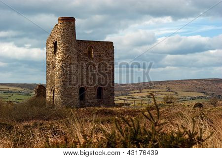 Giew Consols Mine Cripplesease Cornwall