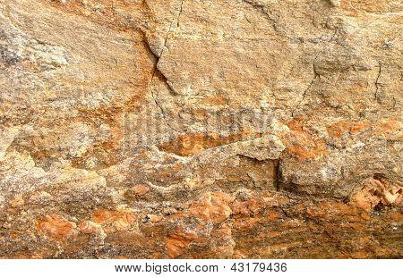orange rock background