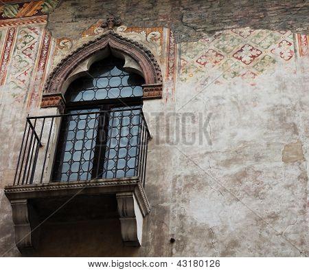 Window in the Venetian style