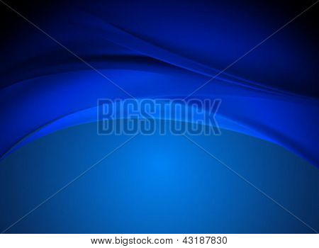 abstract blue business backgrounds - vector