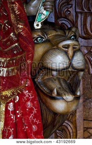 Hinduism  Head Of Lion