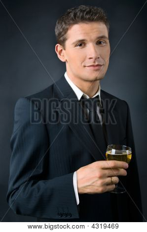 Portrait of a Beautiful Man
