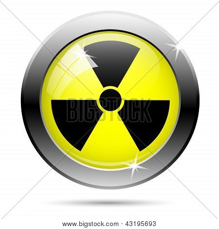 Icono de radiación