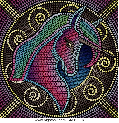 Unicorn Mosaic