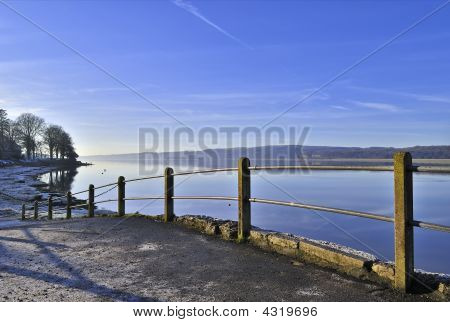 Arnside On A Frosty Winter Morning