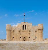 Постер, плакат: Форт Qaitbey Александрия Египет