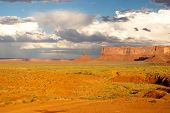 Monument Valley Brightens After A Summer Storm