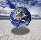 Photo of global warming.