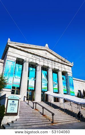 John G. Shedd Aquarium Building In Chicago