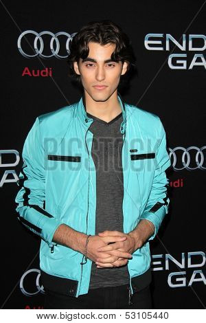 LOS ANGELES - OCT 28:  Blake Michael at the