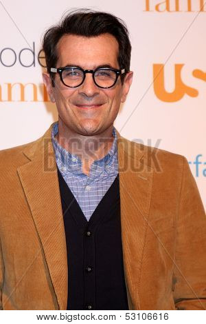 LOS ANGELES - OCT 28:  Ty Burrell at the Modern Family on USA Network Fan Appreciation Event at Village Theater on October 28, 2013 in Westwood, CA