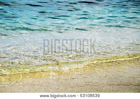 Clear Water Of Cretan Sea