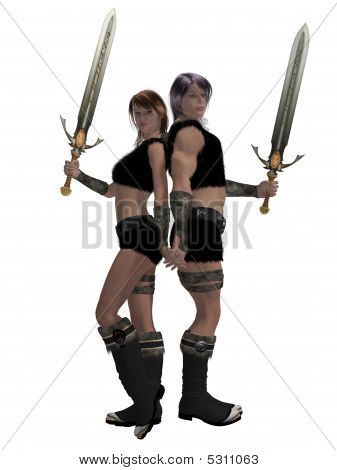 Warrior Barbarian Couple
