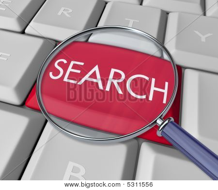 Search Key On Computer Keyboard