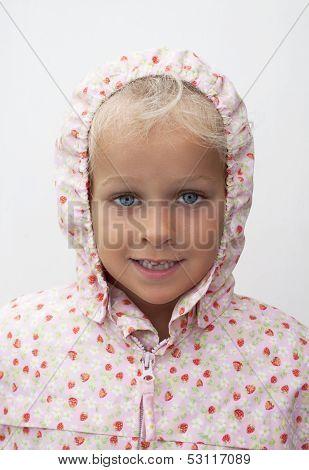 Girl  With Raincoat