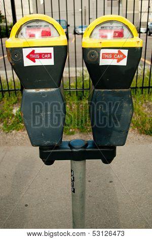Double Parking Meter