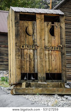 Miners And Muckers Outhouse