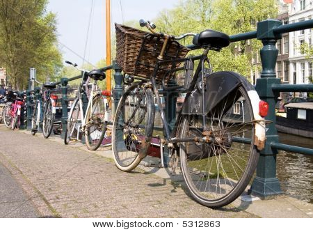 Bicycles, Symbols Of Amsterdam