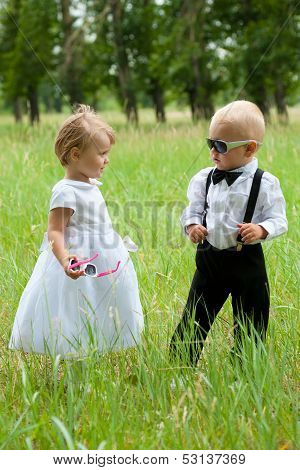 Cool Groom With Bride